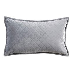 Edmonton Cushion, 30 x 50cm, silver grey