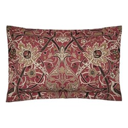 Bullerswood Oxford pillowcase, 74 x 48cm, paprika