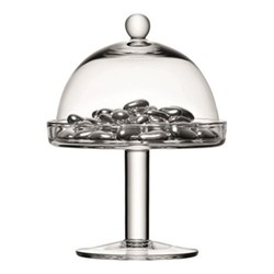 Vienna Cakestand and dome, 20/15cm, clear