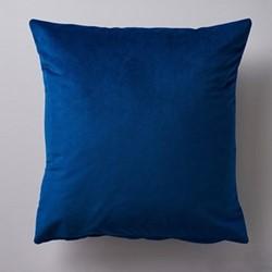 Albion Velvet cushion, 45 x 45cm, blue