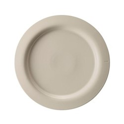 Sand Large dinner plate, Dia28cm, natural