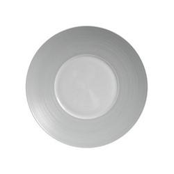 Hemisphere Bread & butter plate, Dia16cm, grey metallic