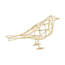De L'Aube Bird Bird ornament, H11 x W18 x D6cm, yellow
