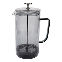 Colour Cafetiere, 300ml, smoke grey