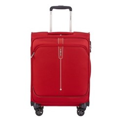 Popsoda Spinner suitcase, 55 x 40 x 20cm, red