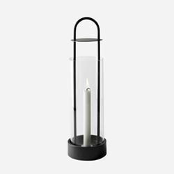 Lotus Lantern, H43cm, Black