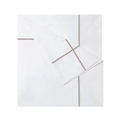Athena - 500 Thread Count Cotton Percale King duvet cover, 240 x 220cm, pierre
