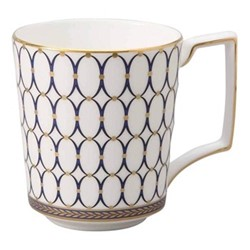 Renaissance Gold Set of 4 mugs, 300ml, blue/multi