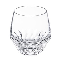 Folia Small tumbler, H9 x D8.9cm, clear crystal