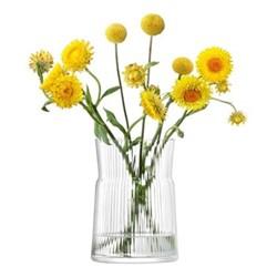 Gio Line Lantern/Vase, H18.5 x Dia13cm, clear