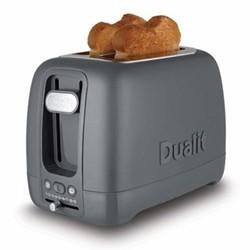 Domus 2 slot toaster, grey