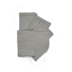 Emily Set of 6 napkins, L45 x W45cm, mist