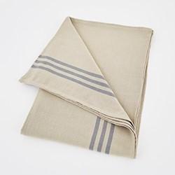 Maxime Tablecloth, W180 x L320cm, linen / grey