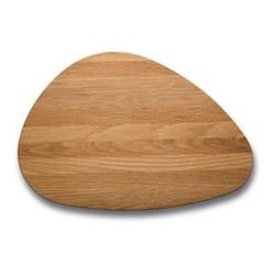 Pebble Chopping board, L44 x W30cm, oak
