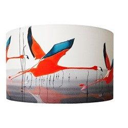 Breaking Dawn Lampshade, D40 x H25cm, multi