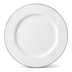 Rainbow Collection Dinner plate, 27cm, stone grey rim