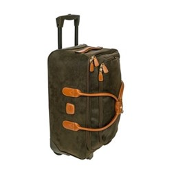 Life Holdall with wheels, W55 x H25 x D32cm, olive