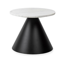 Cezanne Circular side table , H33 x  W40 x D40cm