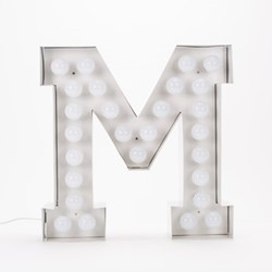 Vegaz M Letter light, H60cm