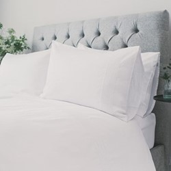 Chelsea King duvet set, white