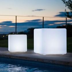 Cube Lamp, L40 x W40 x H40cm, white