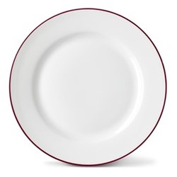 Rainbow Collection Side plate, 20cm, cerise pink rim