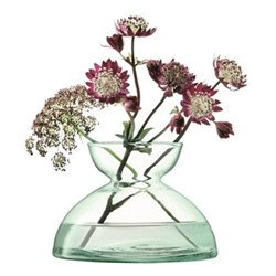 Canopy Vase, H9.5cm, clear