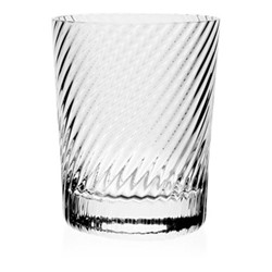 Atlantic Spiral old fashioned tumbler, 10.5cm - 320ml, clear
