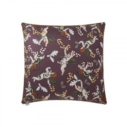Cherubin Cushion cover, W65 x L65cm, purple