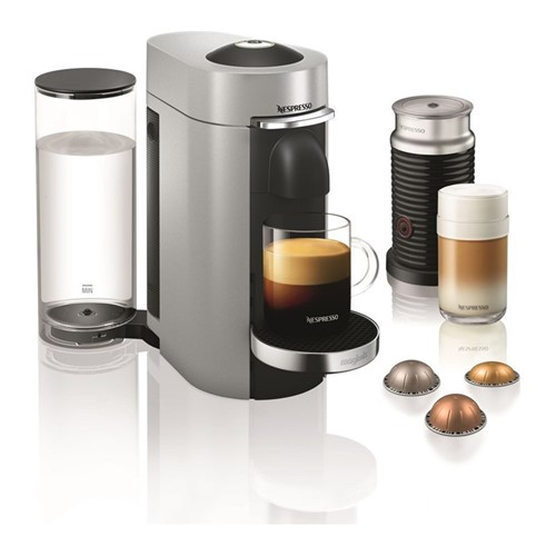 Vertuo Plus & Milk Coffee machine by Magimix, silver