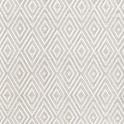 Diamond Polypropylene indoor/outdoor rug, W122 x L183cm, platinum white