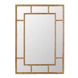 Airi Mirror, L71 x W100cm, antique gold metal