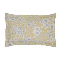 Maelee Oxford pillowcase, L48 x W74cm, yellow