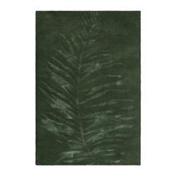 Leaf Hand tufted rug, 140 x 200cm, green