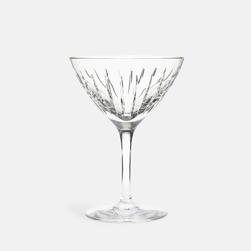 Roebling Cocktail glass, clear