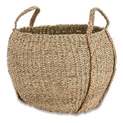 Rundi Seagrass basket, Dia38cm, natural