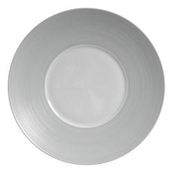 Hemisphere Charger plate, Dia32cm, grey metallic