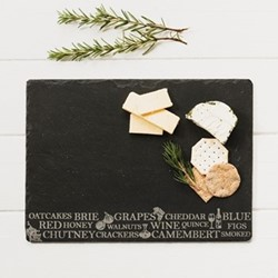 Engraved Antipasti cheese board, 35 x 25cm