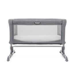 Roomie Side sleeping crib, H81 x W98 x D69cm, Grey Flannel