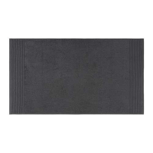 Cotton Bath mat, 50 x 90cm, charcoal