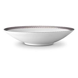 Corde Large coupe bowl, 37cm, platinum