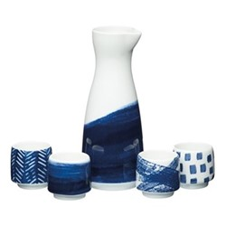 World of Flavours - Oriental Sake set, H18 x W7.3 x D7.3cm - 400ml