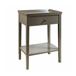 Porto Side table, W60 x D41 x H77cm, clay