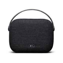 Helsinki Portable speaker, H16 x W21cm, slate black