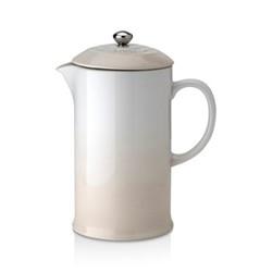 Stoneware Cafetiere, 1 litre, meringue