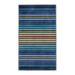 Warner Beach towel, 100 x 180cm, multi blue