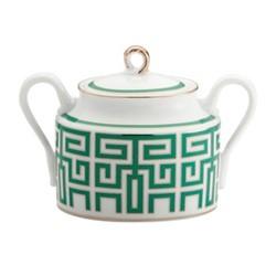 Labirinto Sugar bowl, 33cl, smeraldo