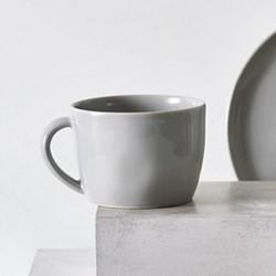 Portobello Mug, H8 x Dia10.5cm, grey