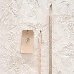 Hansa Wooden ruler, 30cm, mango wood