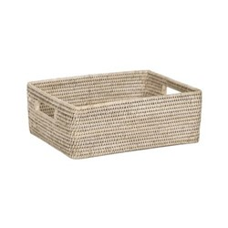 Ashcroft Regular box tray, L35 x D26 x H12.4cm, silver reed